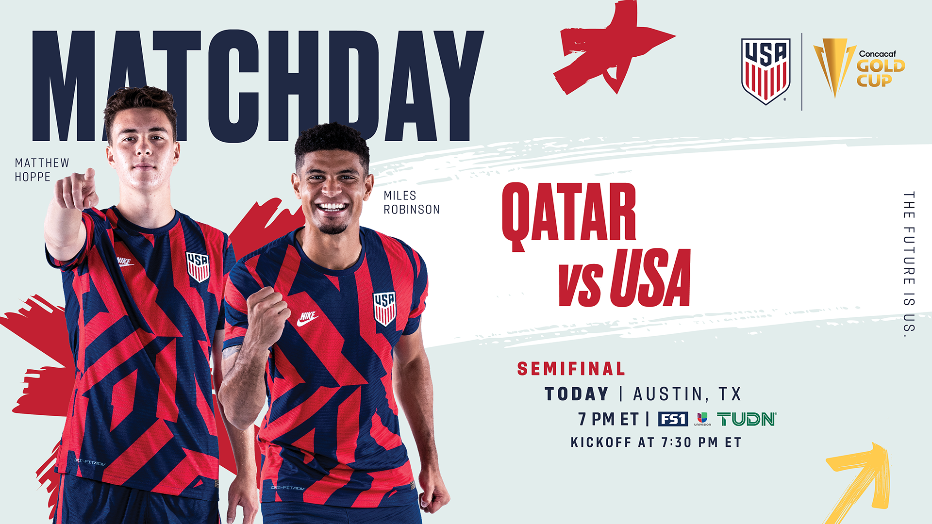 2021 Concacaf Gold Cup Semifinal: USA vs Qatar - Preview, Schedule, TV Channels, Start Time
