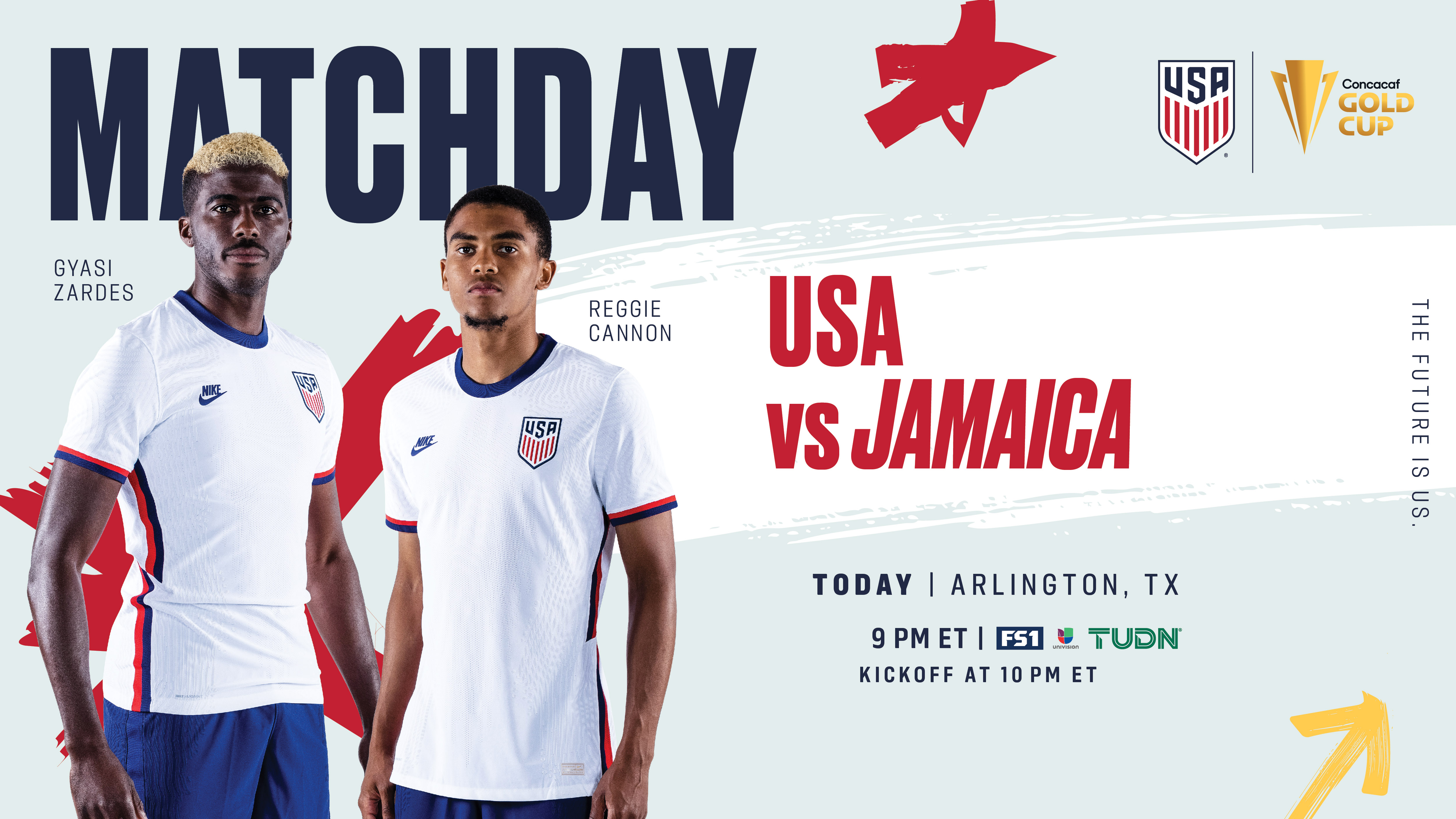2021 Concacaf Gold Cup USA vs Jamaica - Preview, Schedule, TV Channels, Start Time