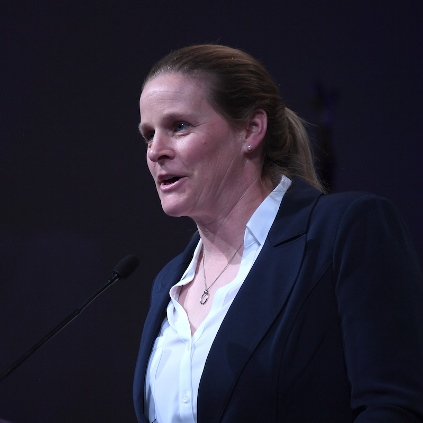 U.S. Soccer President Cindy Parlow Cone