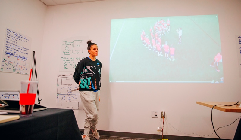 2018 NWSL C License Course - Ali Krieger