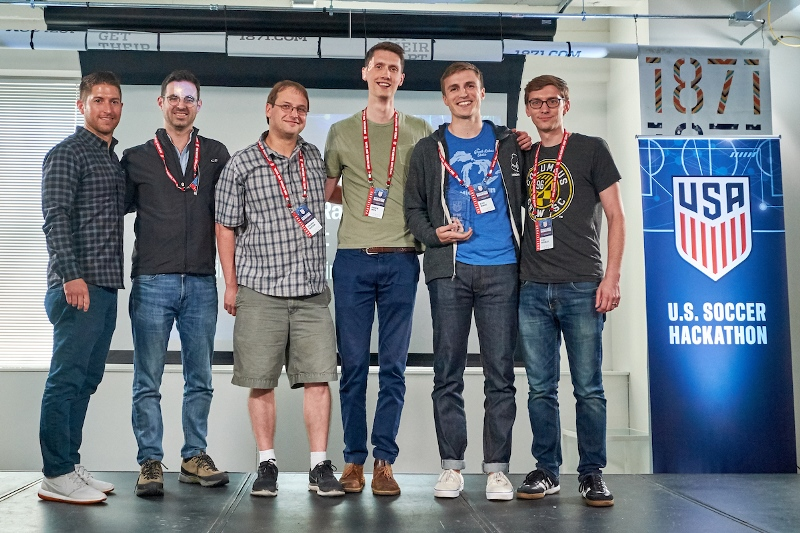 2018 U.S. Soccer Hackathon - winners