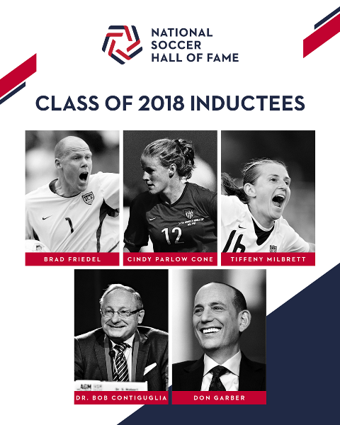 2018 National Soccer Hall of Fame Class