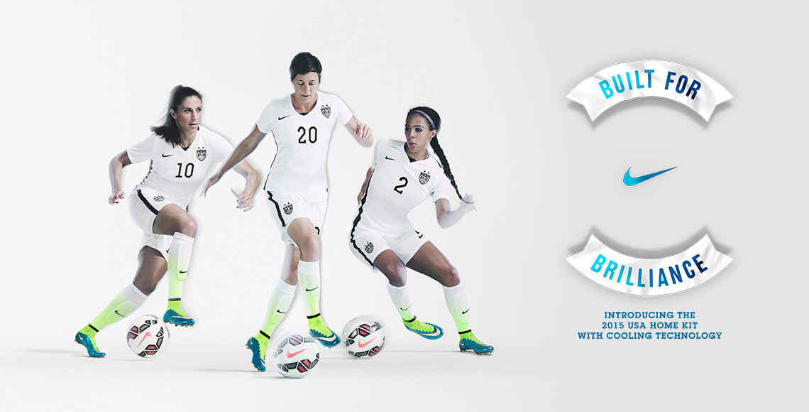 6a7c163faa2 U.S. Women s National Team Unveils New 2015 Nike Home Kit