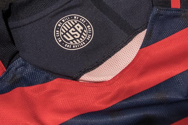 988417893 U.S. Soccer Unveils U.S. MNT 2017 Gold Cup Kit