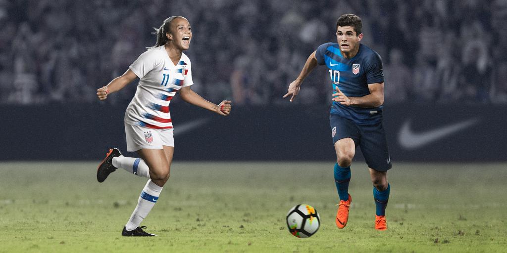 8f53eb3ce Distinctive New Kit Launches U.S. Soccer s Next Generation