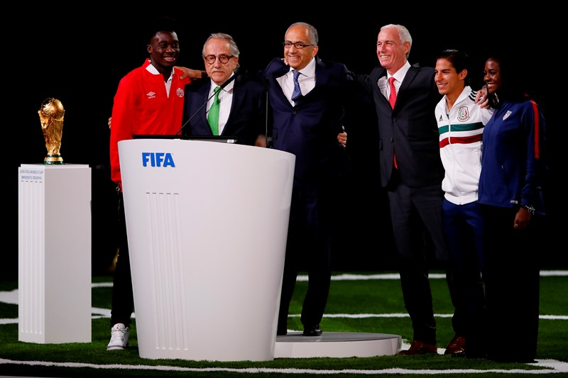 United Bid presenters win right to host 2026 World Cup