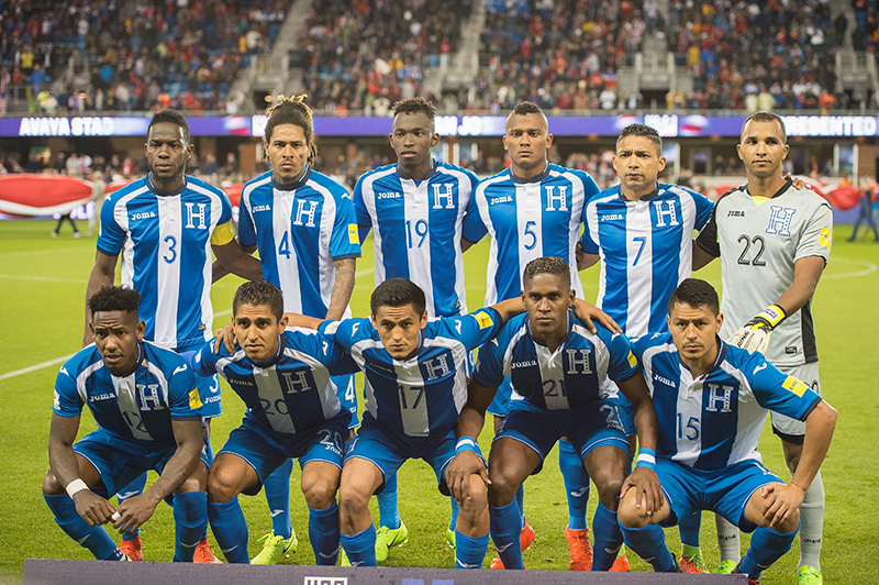 Honduras National Football Team Zoom Background