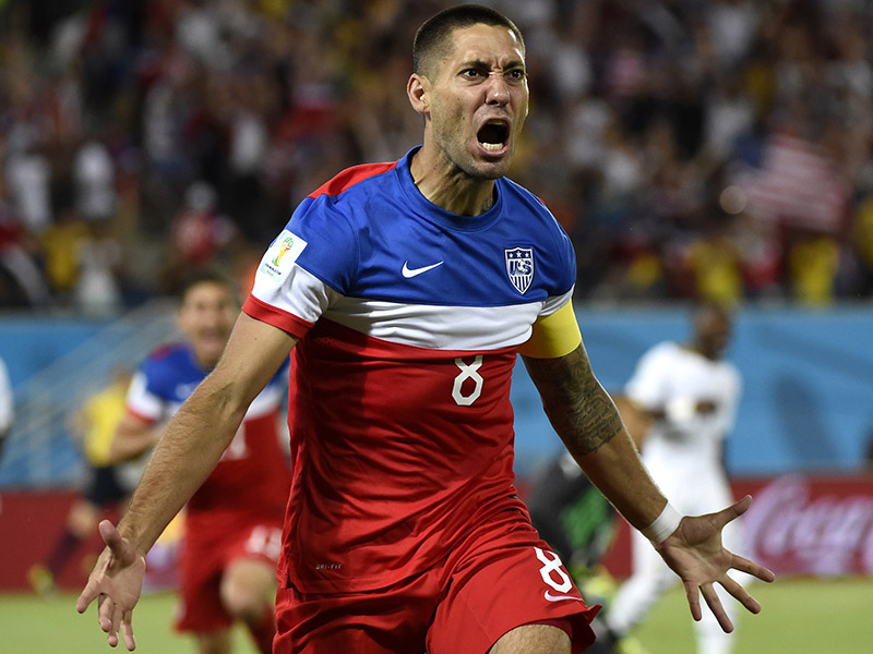 U.S. MNT vs. Ghana 2014 - Clint Dempsey