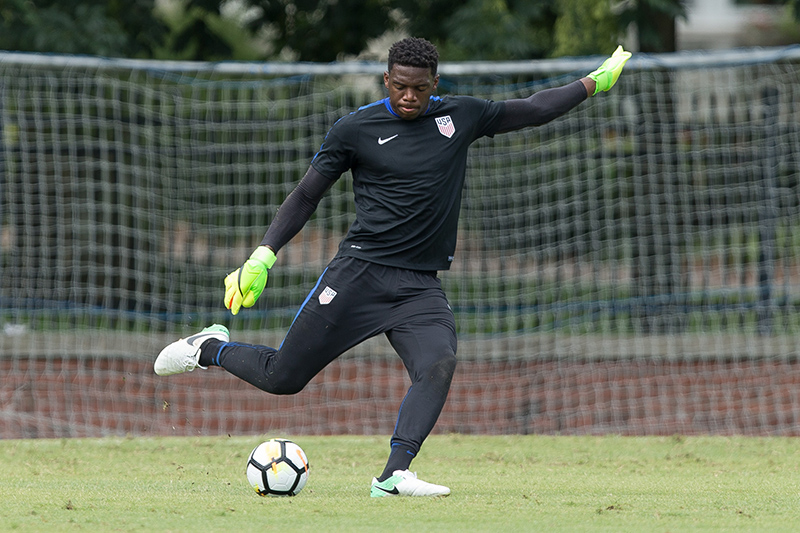 U.S. MNT - Sean Johnson