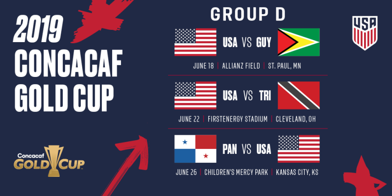 2019 Gold Cup Group D