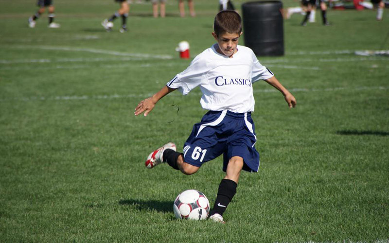 U.S. MNT and Borussia Dortmund midfielder Christian Pulisic playing for PA Classics of the U.S. Soccer Development Academy
