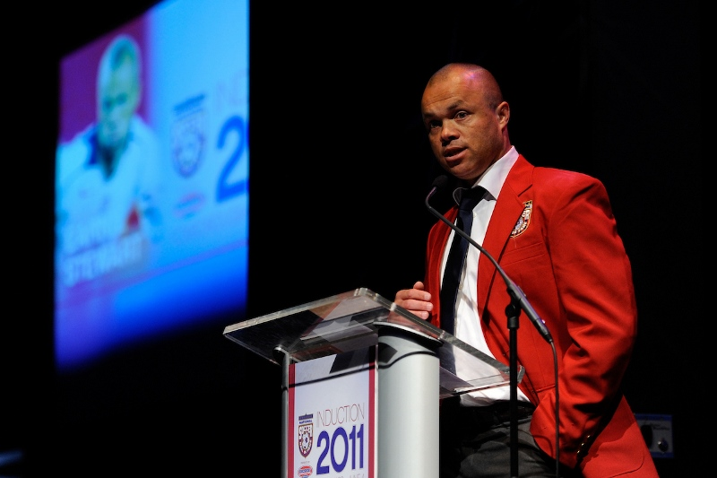 National Soccer Hall of Fame Class of 2011 - Earnie Stewart