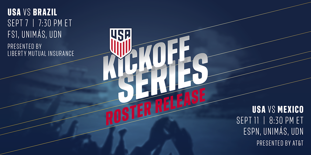 b57c9e775 Dave Sarachan Brings 24-Player Roster to Begin Kickoff Series Against  Brazil and Mexico