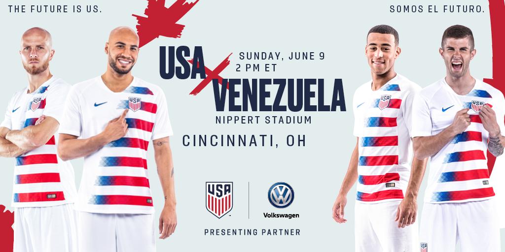 a60a6864e64 Cincinnati s Nippert Stadium to Host USA-Venezuela on June 9