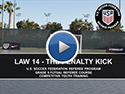 Law 14 The Penalty Area