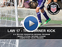 Law 17 The Corner Kick