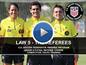 Law 5 The Referees
