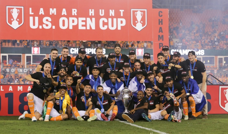 2018 U.S. Open Cup Champions Houston Dynamo
