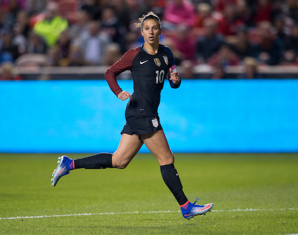 Five Things To Know About U S Wnt Midfielder Carli Lloyd