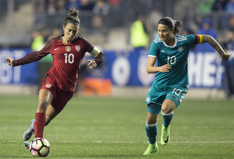 55cd296492c Ellis Names 23-Player Roster for 2018 SheBelieves Cup