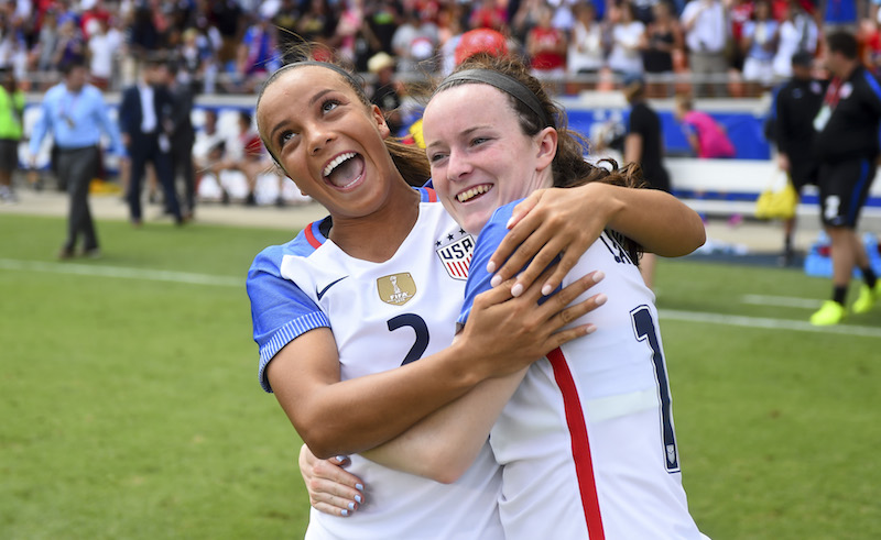 WNT - Mallory Pugh, Rose Lavelle