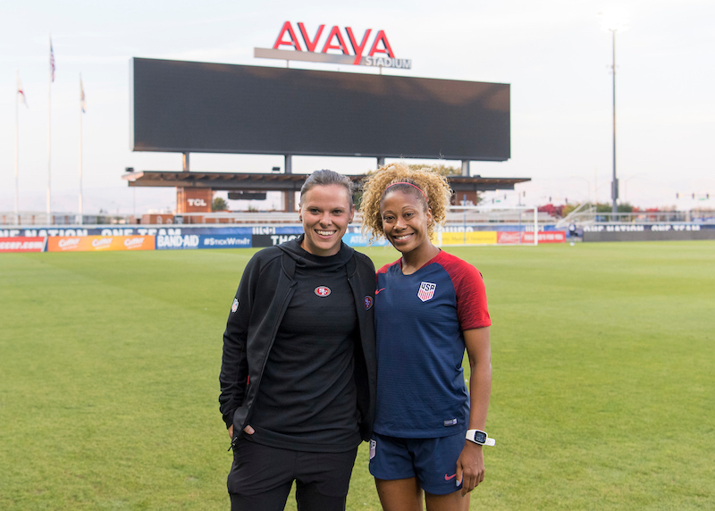 WNT Honors Inspirational Women with Names on Back of Jerseys