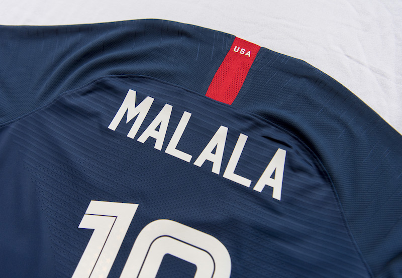 buy online 7acab 0f7be WNT Honors Inspirational Women with Names on Back of Jerseys ...