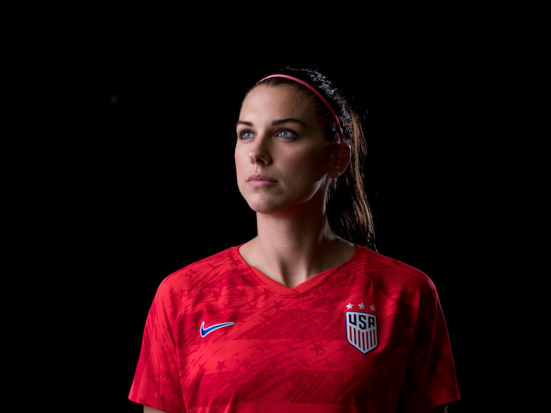 Image result for alex morgan photoshoot football