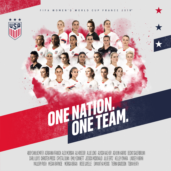 84adde779b2 Meet the USA's 2019 FIFA Women's World Cup Team