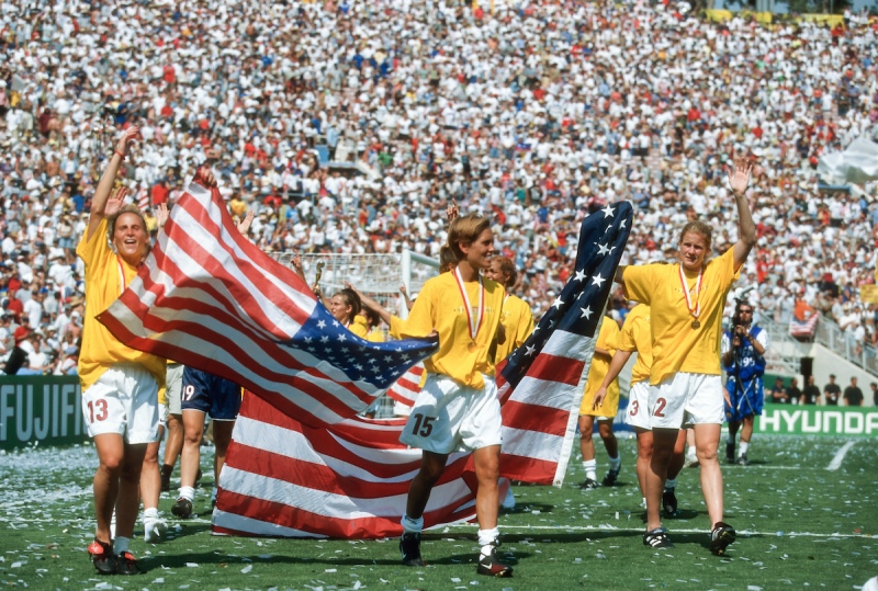 USA 1999 Women's World Cup champions