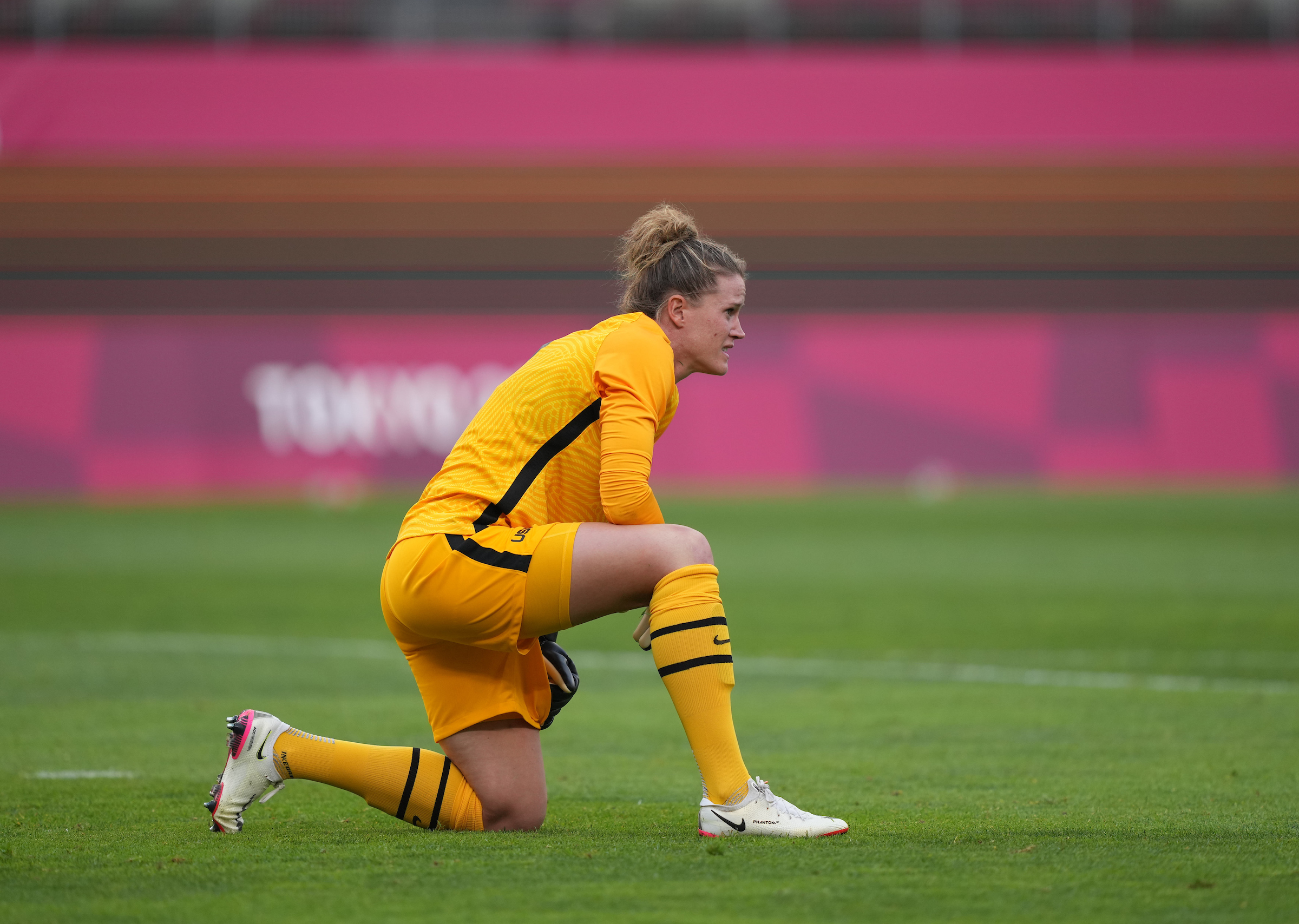 Naeher Ruled Out of Bronze Medal Game