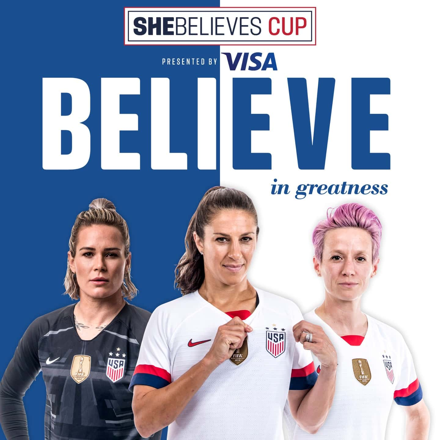 2020 SheBelieves Cup, Presented by Visa, Highlights U.S. Soccer's Most Expansive SheBelieves Campaign to Inspire, Encourage and Empower