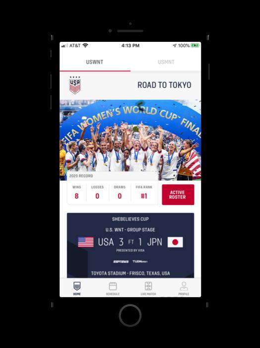 U.S. Soccer App