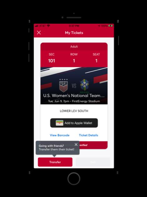 U.S. Soccer Mobile App